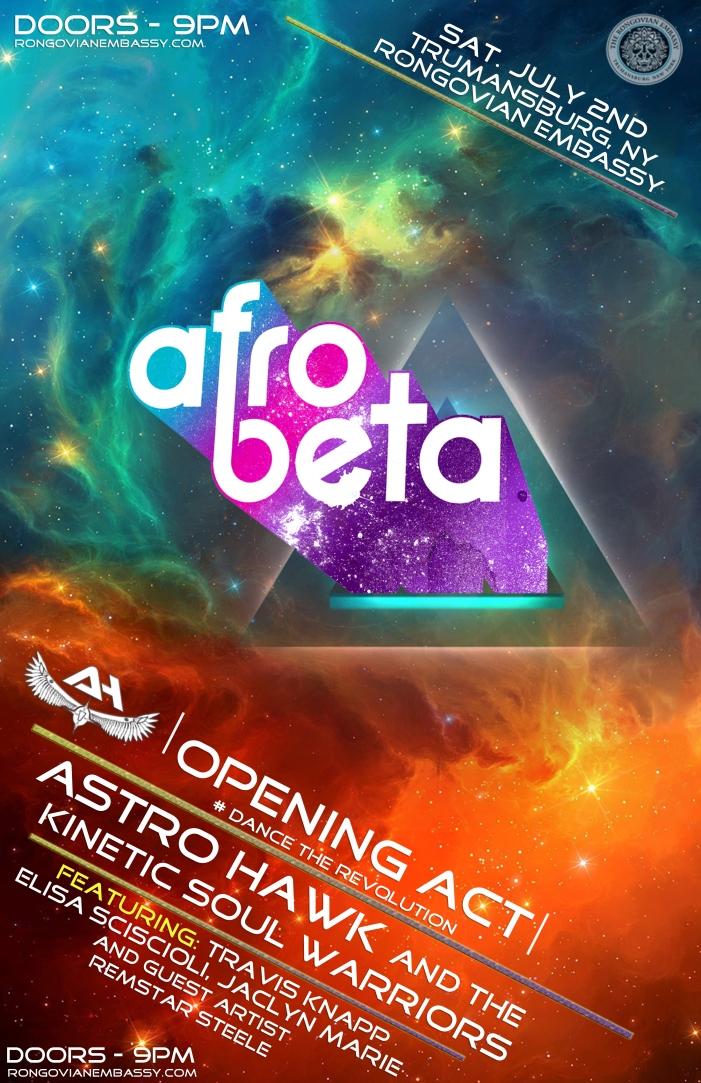 Afro Beta Rongo Show 7-2 11x17
